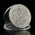 2020 konstellation Skorpion Sternzeichen Antike Silber Überzogene Gedenkmünze Medaille Sammlung Geschenke