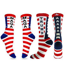 цена на Goocheer 2019 NEW Socks Donald Trump MAGA General Election Stars Striped Casual Unisex Stocking