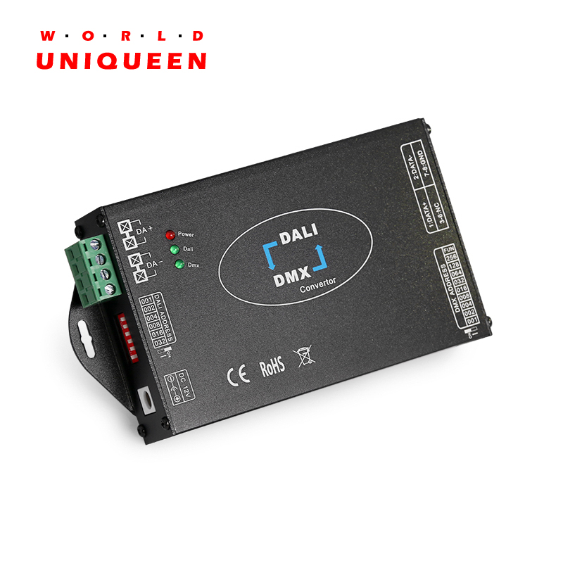 DL113 DALI To DMX512, DMX512 To DALI, Double Sides Signal Transfer, Signal Converter