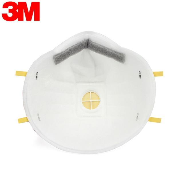 3M 8210 8210V 8210VCN KN95 Maschere di Protezione Anti PM2.5 Struttura Industriale Nebbia Ambiente KN95 N95 Maschera Con Valvola 3
