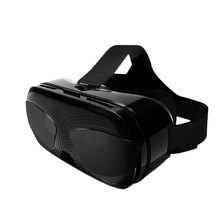 VR Virtual Reality Glasses 3D Headset Stereo Helmet Box with Eye Diopter Adjustment for iPhone Android Smartphones 4.5-6.0 Inch(China)