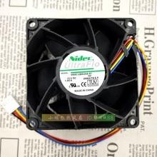 V80E12BS2A5-57 12v 1.95A 8038 8 см защиты электродвигателя Вентилятор охлаждения