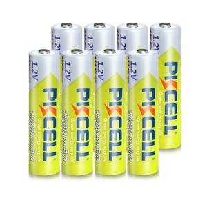 Image 2 - 8 adet PKCELL AAA pil 1.2V Ni MH AAA şarj edilebilir pil 1000MAH piller 3A Bateria Baterias 2 adet AAA/AA pil tutucu