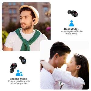 Image 2 - DACOM T8 casque sans fil basse Bluetooth 5.0 écouteur étanche Mini vrai Tws écouteurs avec batterie externe LED affichage PK i12 tws
