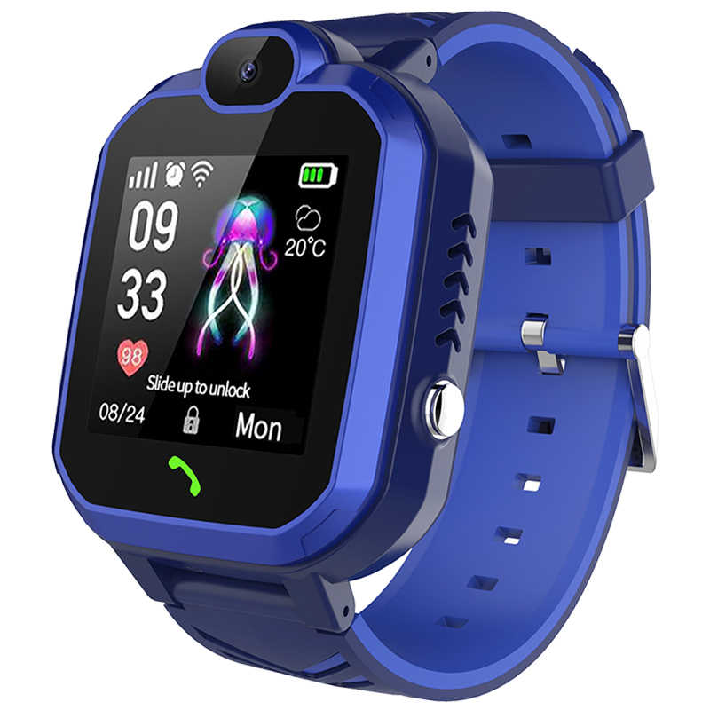 LIGE 2019 New men Smart watch for Children SOS Call Location Finder Locator Tracker Anti Lost Monitor fitness sport smartwatch