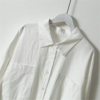 Mozuleva Basic White Shirts for Women 5