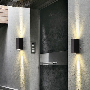 Image 5 - Moderna Lampada Da Parete A LED per la casa IP65 di Alluminio Up Imbottiture Luce ha condotto la luce esterna della parete 6W coperta bagno Giardino portico lampada ZBD0020