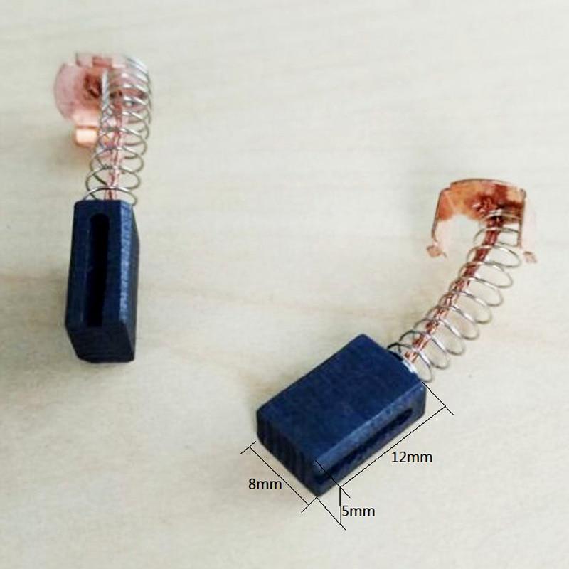 10 par szczotek węglowych 5x8x12mm do silników elektrycznych - Akcesoria do elektronarzędzi - Zdjęcie 2