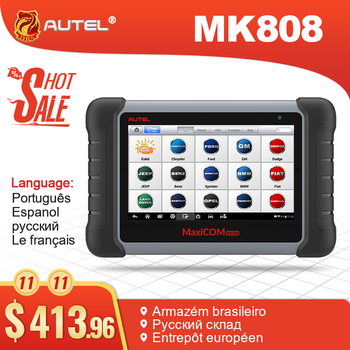 Autel MaxiCom MK808 MX808 Diagnostic Tool Car OBD2 Scanner Engine Analysiser All System OBD2 Diagnostic Scanner Key Programmer - DISCOUNT ITEM  28 OFF Automobiles & Motorcycles