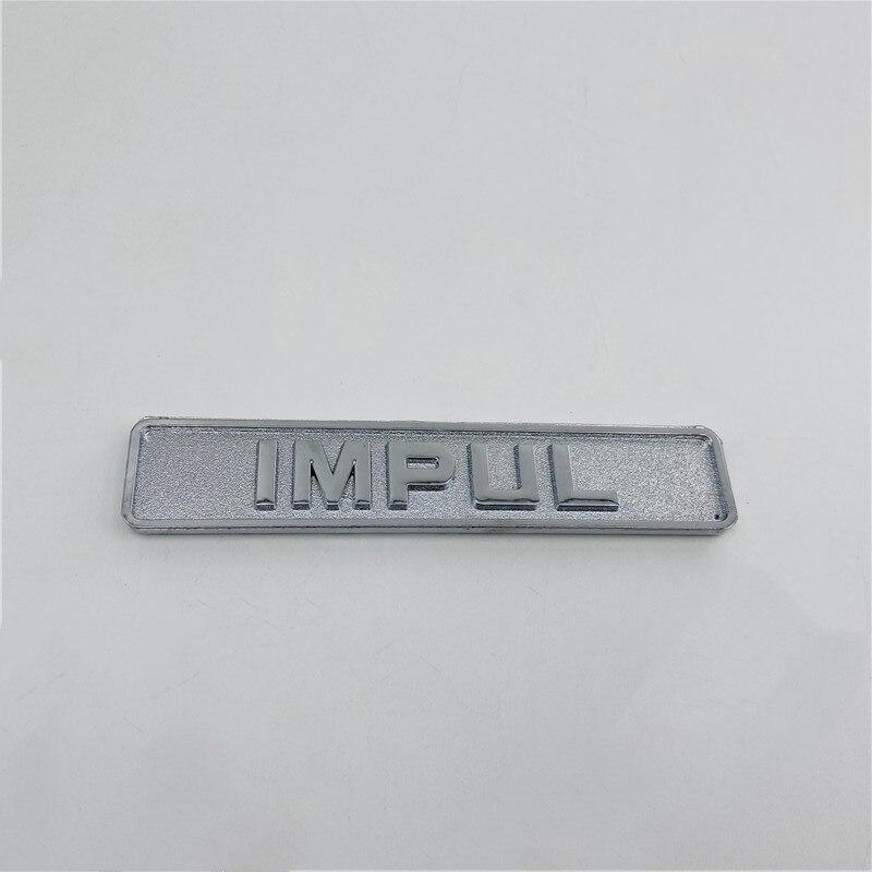 For Nissan IMPUL Emblem Rear Trunk Logo Sticker Side Fender Decal Badge