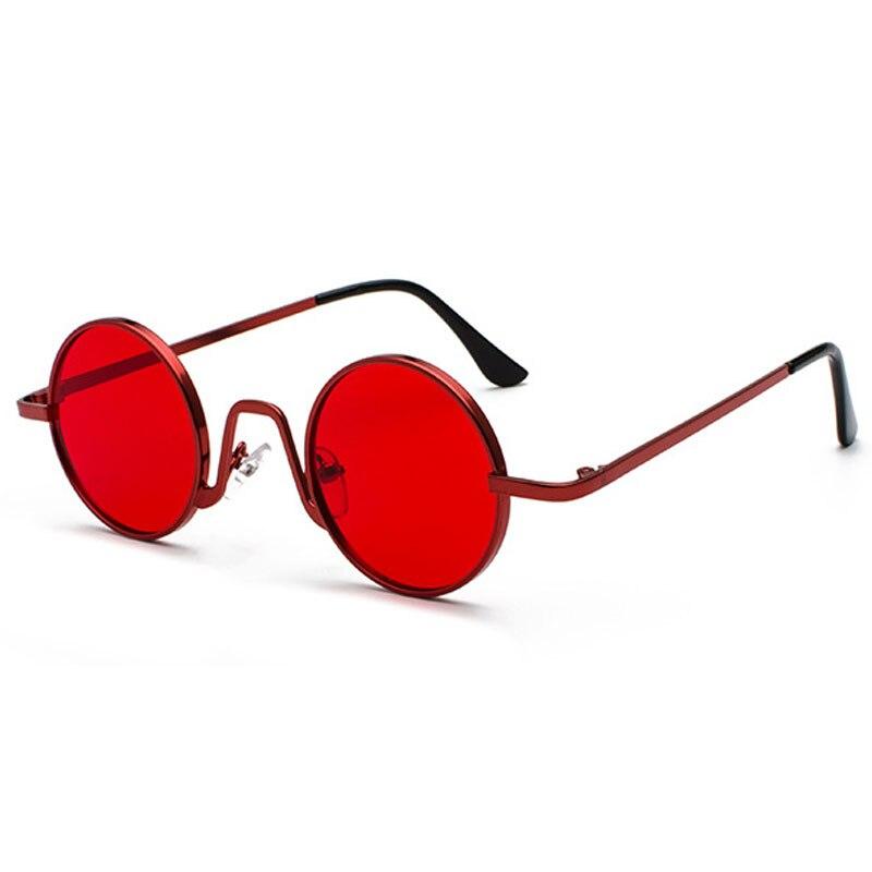 Vintage Round Sunglasses Brand Design Women Men Sun Glasses Luxury Retro UV400 Eyewear Fashion Shades Oculos De Sol Gafas