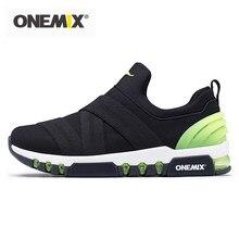 Męskie buty do biegania ONEMIX odblaskowe męskie buty sportowe sporty outdoorowe lekkie oddychające sneakersy do joggingu Trekking