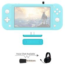 GuliKit NS07 Pro Wireless Audio Transmitter Route Air Voice Chat USB C Bluetooth Audio Adapter For Nintendo Switch Lite PS4 PC