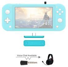GuliKit NS07 Pro bezprzewodowy nadajnik Audio istnieje wiele przejazdów powietrza czat głosowy USB C Bluetooth Audio Adapter dla Nintendo przełącznik Lite PS4 PC