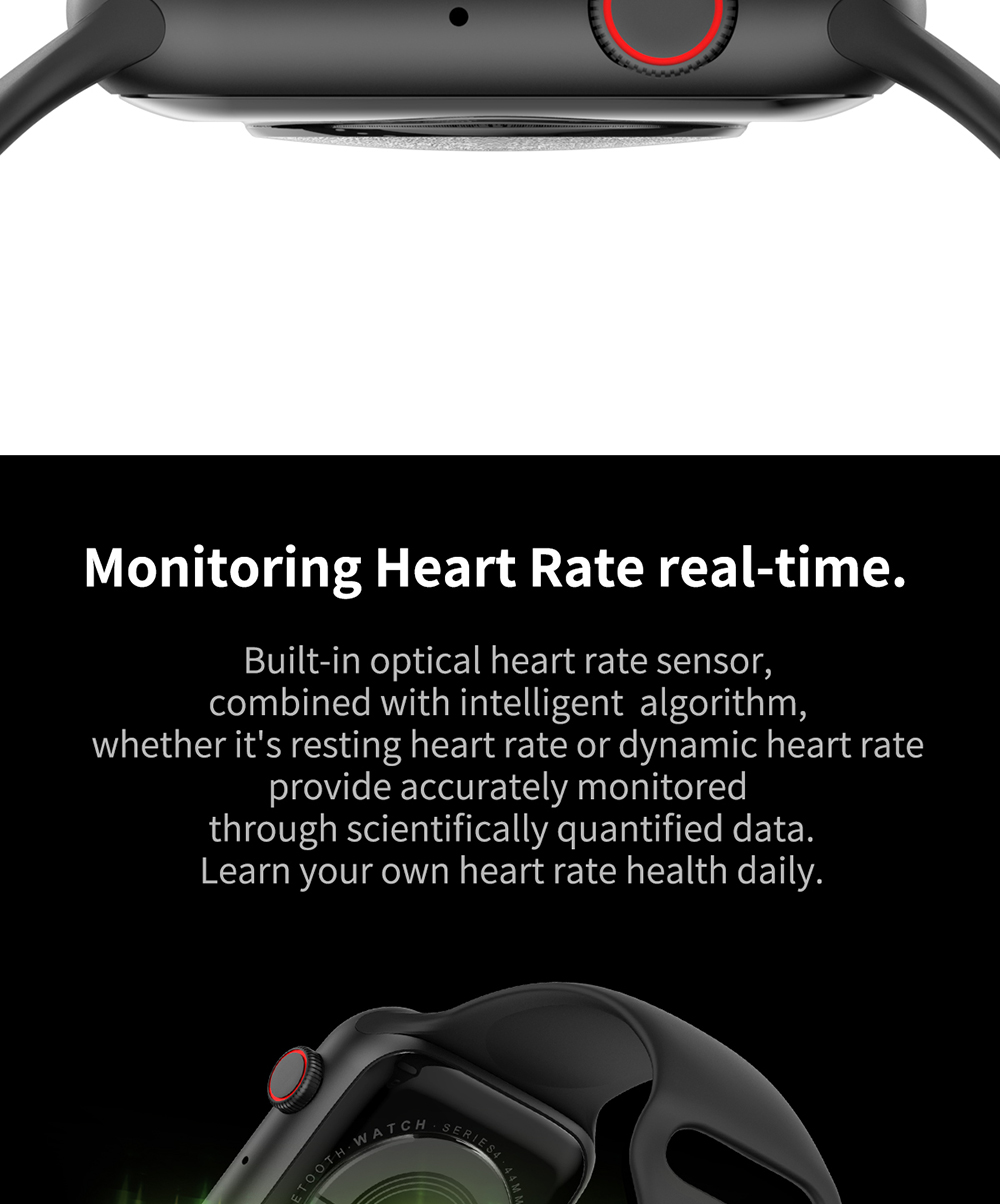 smartwatch for heart rate monitoring