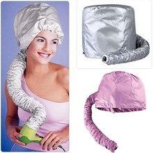 Włosy Perm przenośne miękkie włosy czepek osuszający klapa maski kapelusz suszarka nadmuchowa załącznik Curlformers szare suche włosy krem Cap