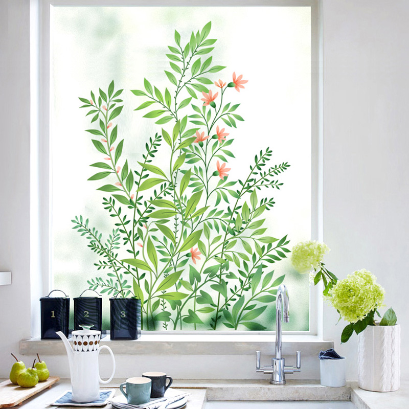 Window Frosted Glass Sticker Translucent, Opaque, Shading, Sunscreen, Sunscreen, Bathroom, Bathroom, Protective Film