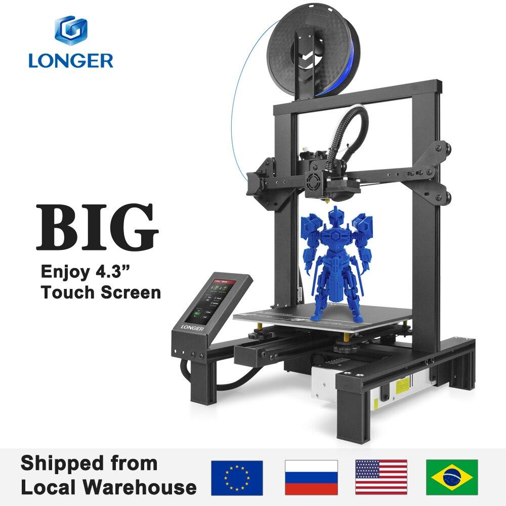 "LONGER LK4 Pro FDM 3D Printer Open Source 4.3"" Full Color Touch Screen Full Metal Big Size High Prec"