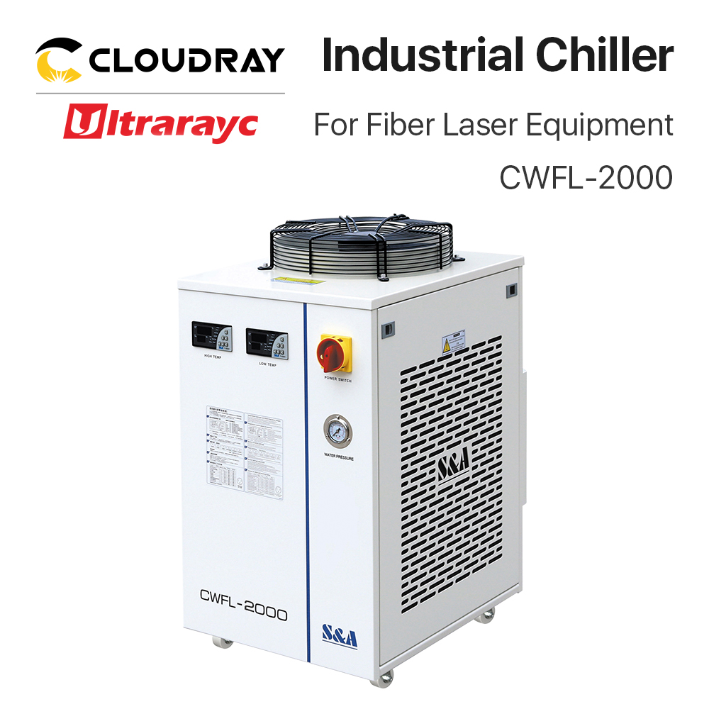 Ultrarayc S&A Fiber Water Chiller for 2000W Laser Cutting Machine CWFL 2000 Series Woodworking Machinery Parts     - title=