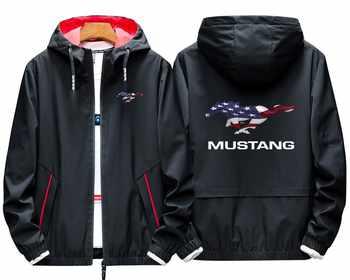 Sweat à capuche LOGO imprimé personnalisé pour Mustang hommes pull à capuche sweat veste personnalisé Harajuku grande taille livraison directe haut
