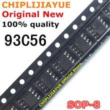 10 adet 93C56 SOP 8 AT93C56 AT93C56A SOP8 SMD yeni ve orijinal IC yonga seti
