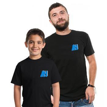 ¡100%! Camiseta de manga corta de algodón de estilo informal con estampado de merch doble 4, para niños y adultos