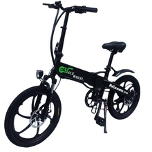 20 inch mini electric car lithium battery assisted scooter folding bicycle hidden