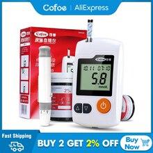 Cofoe глюкометр GA 3 глюкометр без забора крови диабет тест полоски  глюкометр без прокола медицинские приборы