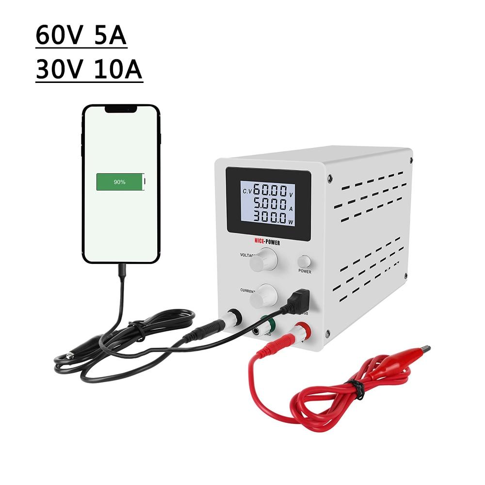 0.01V 30 V 10A LCD écran cc réglable alimentation commutation laboratoire banc Source numérique tension et régulateur de courant 30 V