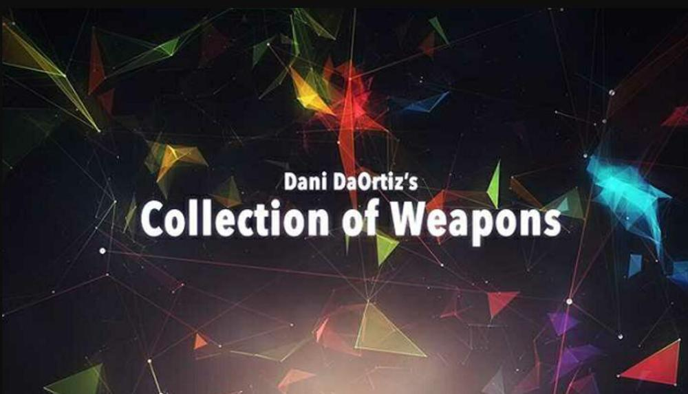 2020  Dani's Collection Of Weapons By Dani DaOrtiz (1-3) - Magic Tricks