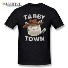 Slime Rancher T Shirt Tabby Town T-Shirt Graphic XXX Tee Awesome Short Sleeve Cotton Male Fashion Tshirt
