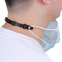 Fonksiyonel ağız maskesi tutucu ayarlanabilir yeniden kullanılabilir kulak döngüler uzatma toka açık kaymaz koruyucu yüz maskesi kanca