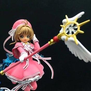 Card Captor Sakura Action Figures Clear Card Toys 18cm