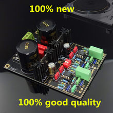 1Pcs/Lot 100% new Audio Dual Circuit MM/MC Phono Stage HIFI Amp Finished Amplifier Board(Ne5532) Free shipping(China)