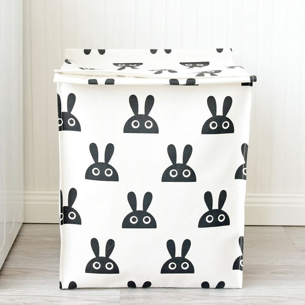 Rabbit Head Canvas Big Bag daily supplies household products health and beauty personal care products