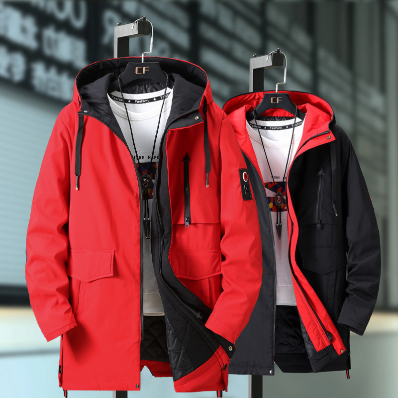 Plus Size 10XL 9XL 8XL 7XL 6XL Black Winter Jacket Men Thick Parkas Casual Jackets Windproof Warm Winter Coat Mens Hooded Fleece