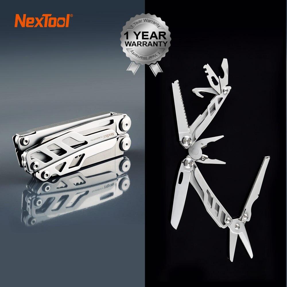 11.11 vendas quentes 16 em 1 multi funcional alicate dobrável edc ferramenta de mão conjunto ferramentas faca chave de fenda ferramenta instrumentos para ao ar livre