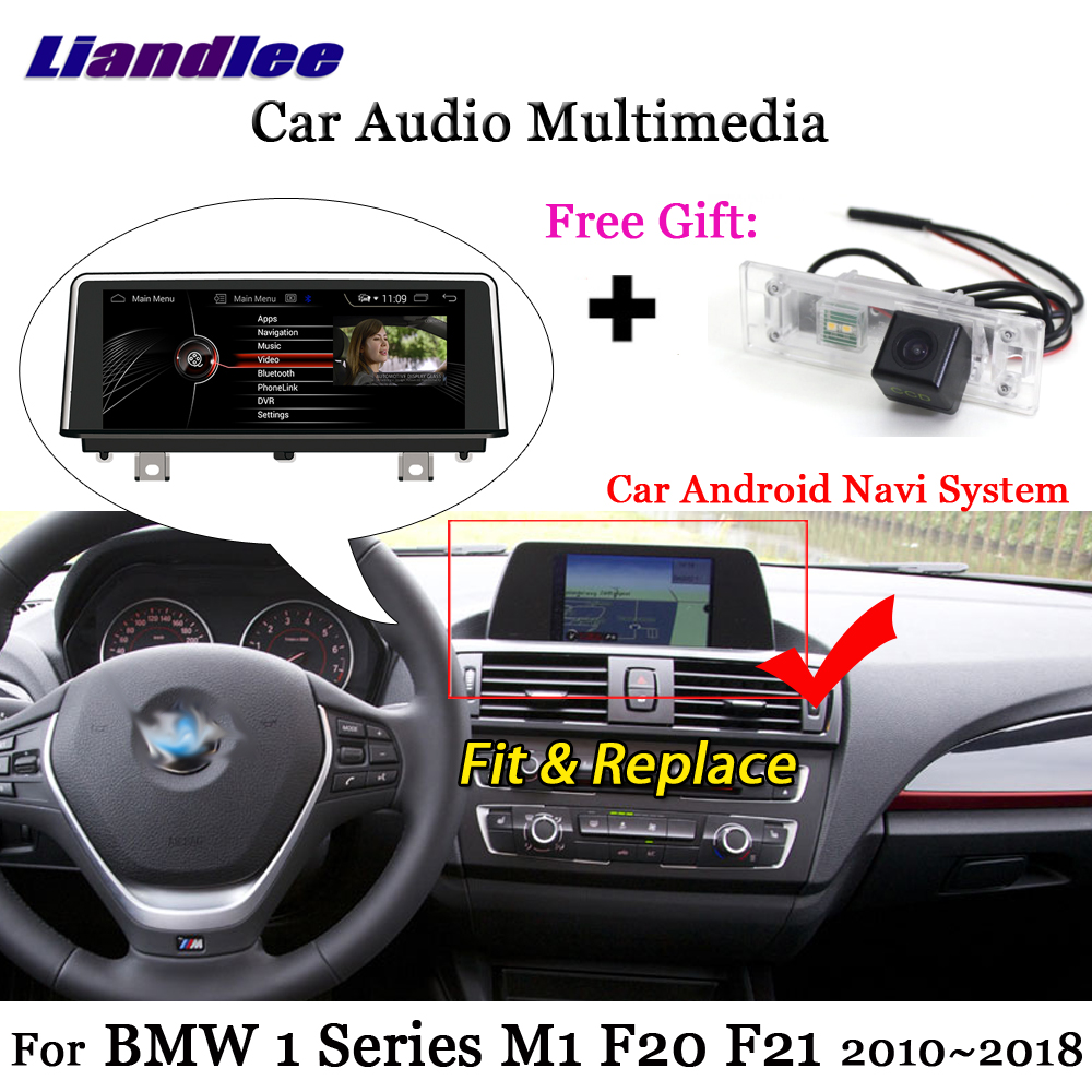 Liandlee <font><b>Android</b></font> 7.1 For <font><b>BMW</b></font> 1 Series M1 <font><b>F20</b></font> F21 2010~2018 Stereo Radio TV Carplay Camera AUX GPS Map Navi Navigation Multimedia image