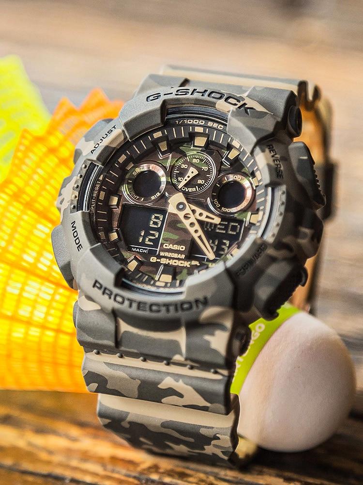 Digital Watch Quartz Luxury-Set Military Sport Top-Brand Relogio Masculino 100waterproof