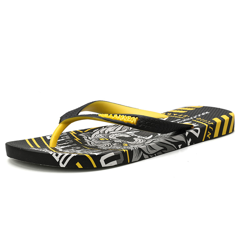 H9c3e699435214c699f762e6e4863ad84B - VESONAL Summer Graffiti Print Slippers Men Shoes Flip Flops Slipers Male Hip Hop Street Beach Slipers Casual Flip-flops