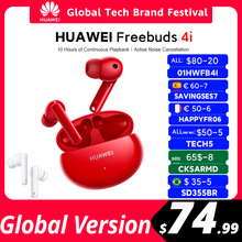 2021 Original HUAWEI FreeBuds 4i Bluetooth Earphone TWS Wireless Active noise reduction |Pure sound quality Wireless Headphones