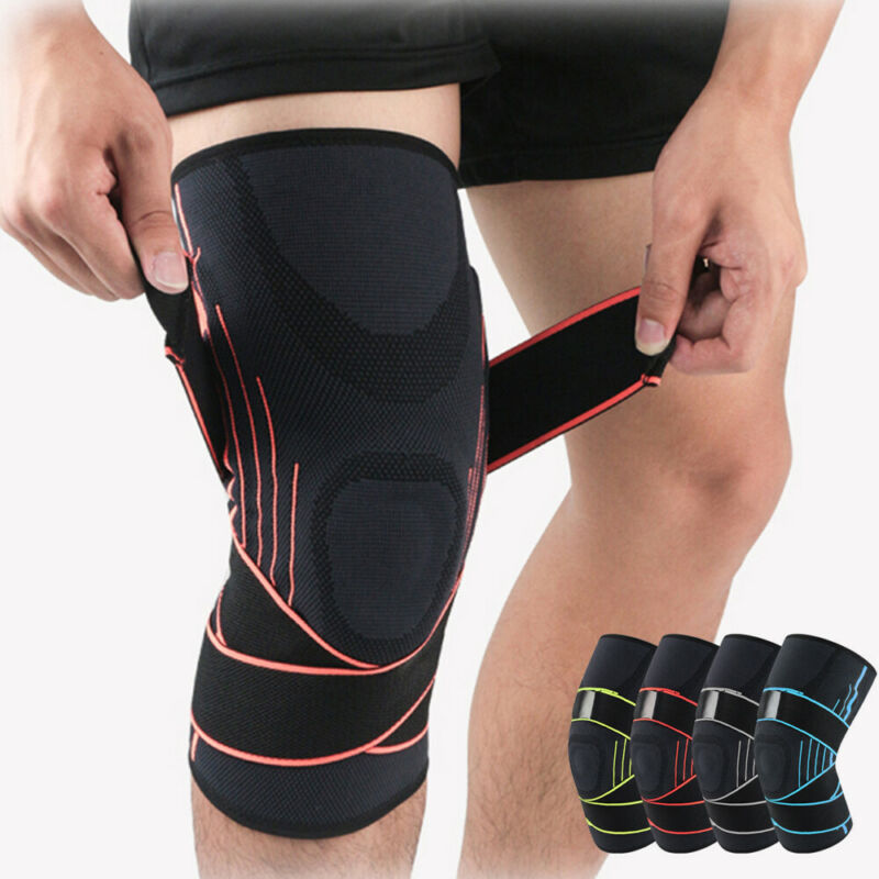 2020 New 3D Compression Sleeve Patch Colors Wrist/Elbow/Knee/Ankle Support Brace Strap sport Protector High Quality Black Green