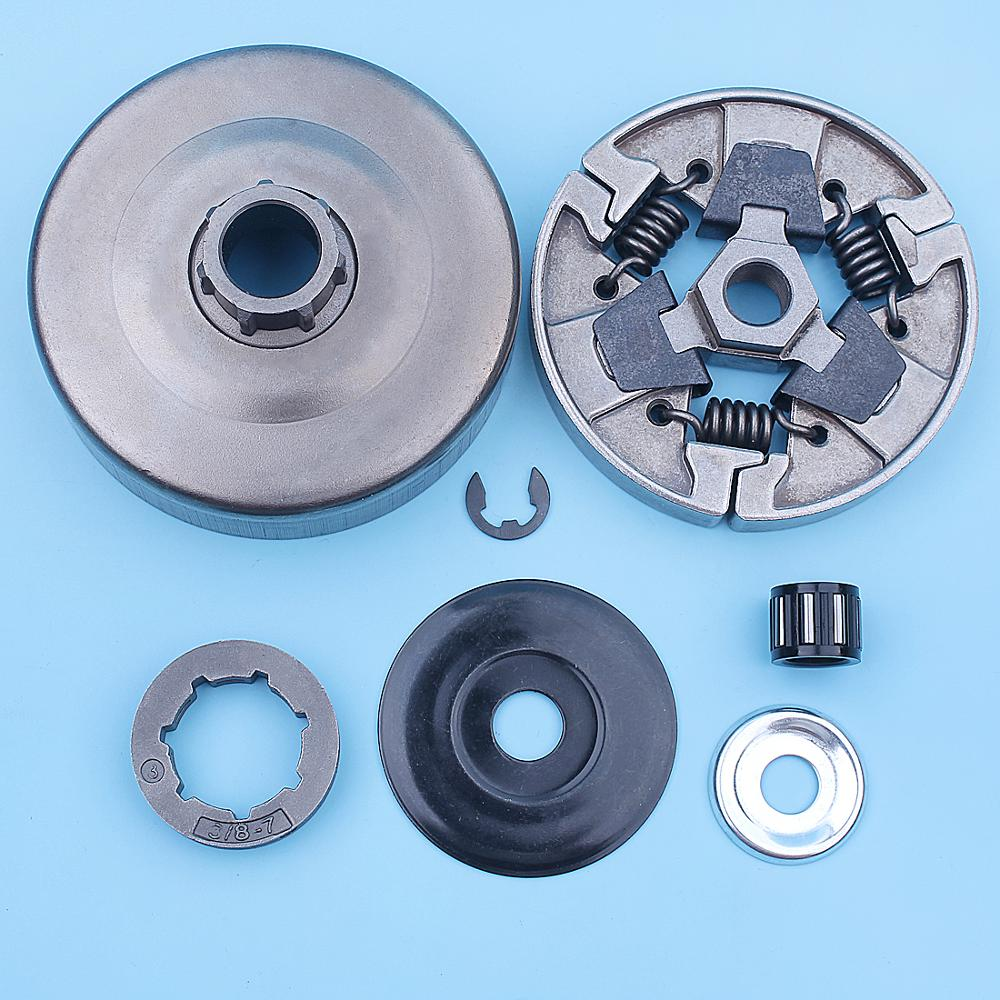 3 8inch-7 Clutch Drum Rim Sprocket Kit For Stihl MS660 066 064 MS640 MS661 MS 660 640 Chainsaw Replacement Spare Parts