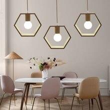Artpad Скандинавская деревянная Подвесная лампа в японском стиле