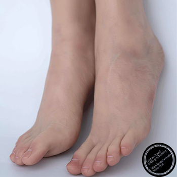 Sexy Foot Model Adult Female Shooting Props Lantine Foot Fetish Simulation Liquid Silicone Soles Bare Toes ZISHINE TGJ39 fake foot model stockings mannequin rubber plastic art silicone female male tpe zishine 3600