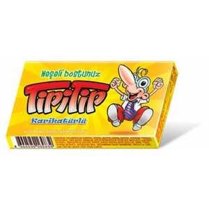 tipitip tipi tip gum chewing 14 piece Old taste chewing gum 1 pack x 14 gums