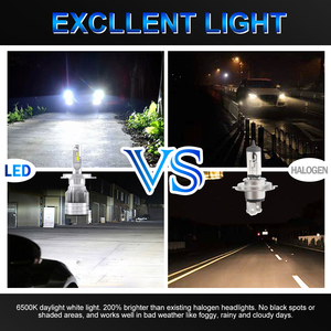 Image 5 - BraveWay 20000LM LED Car Headlight Bulbs H1 H11 H7 H4 LED Lamps HB3 HB4 H8 Fog Lamps Auto Light Bulbs 12V 24V Motorcycle Lights