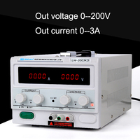 Longwei high power 200V 3A Adjustable Lab Power Supply Bench Source Digital Switching Power Supplies Voltage Current Stabilizer
