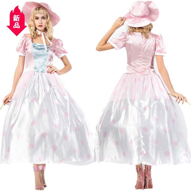 Déguisement d'halloween secret robe de princesse jeu uniforme jouet histoire robe de jeu de rôle