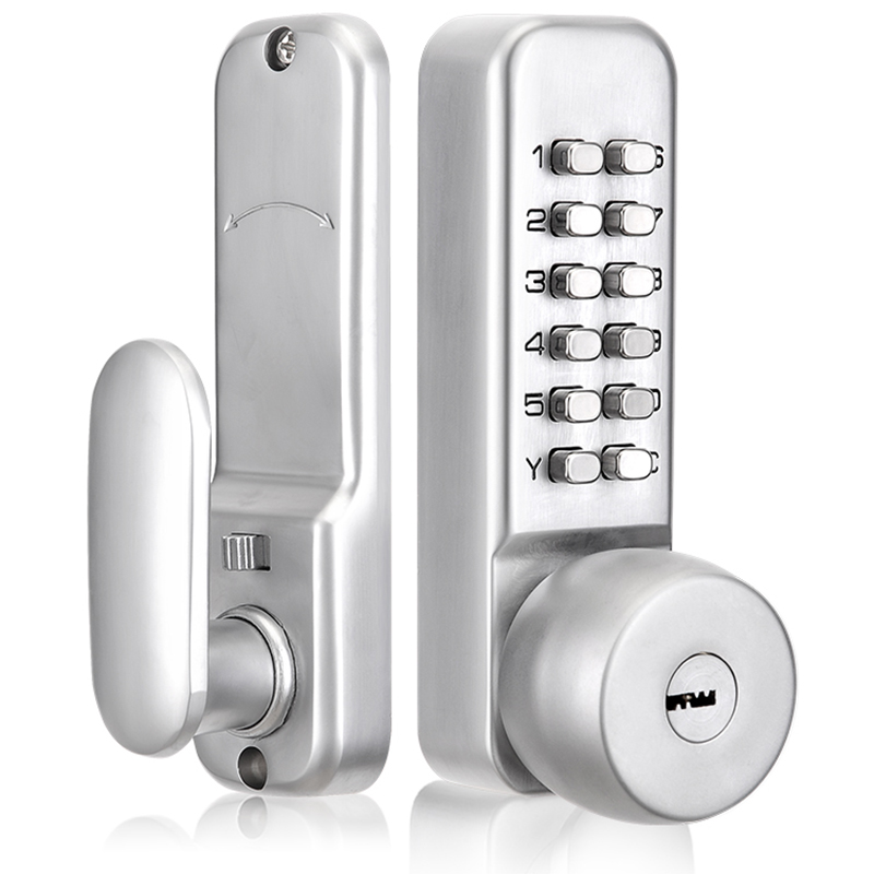 Mechanical Password Door Lock Home Office Room Door Lock Anti-Theft Door Password Key Dual-Use image